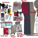 What to pack in a backpack