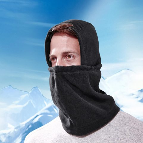 Rent Balaclava face mask to cover ears in trekking(4)