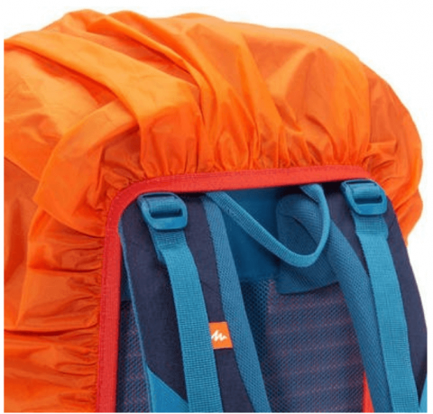 Rent Quechua trekking backpack rain cover waterproof (3)
