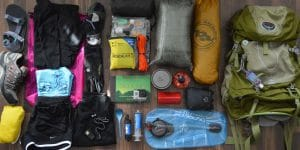 essential things to carry in a trek